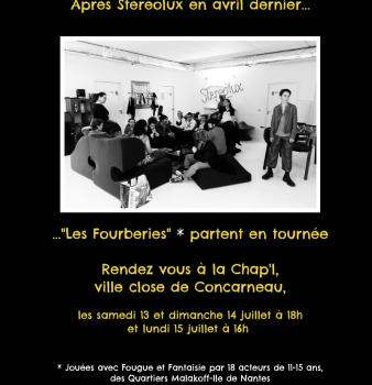 LES FOURBERIES D'APRES MOLIERE en tournée à CONCARNEAU – JUILLET 2019