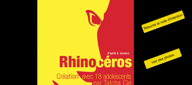 Rhinocéros d'après E. Ionesco